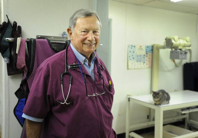 Dr. Ray a local veterinarian in Tampa florida